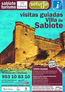 cartel visitas villa opt