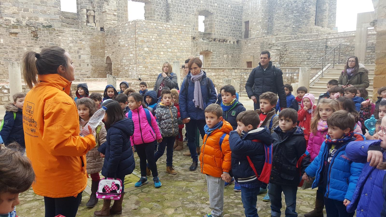 visita-escolares-CEIP-Villacarrillo_Sabiote_Turismo5