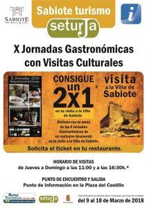 X Jornadas Gastronómicas de Sabiote