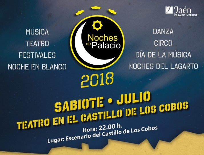 Noches de Palacio 2018 en Sabiote