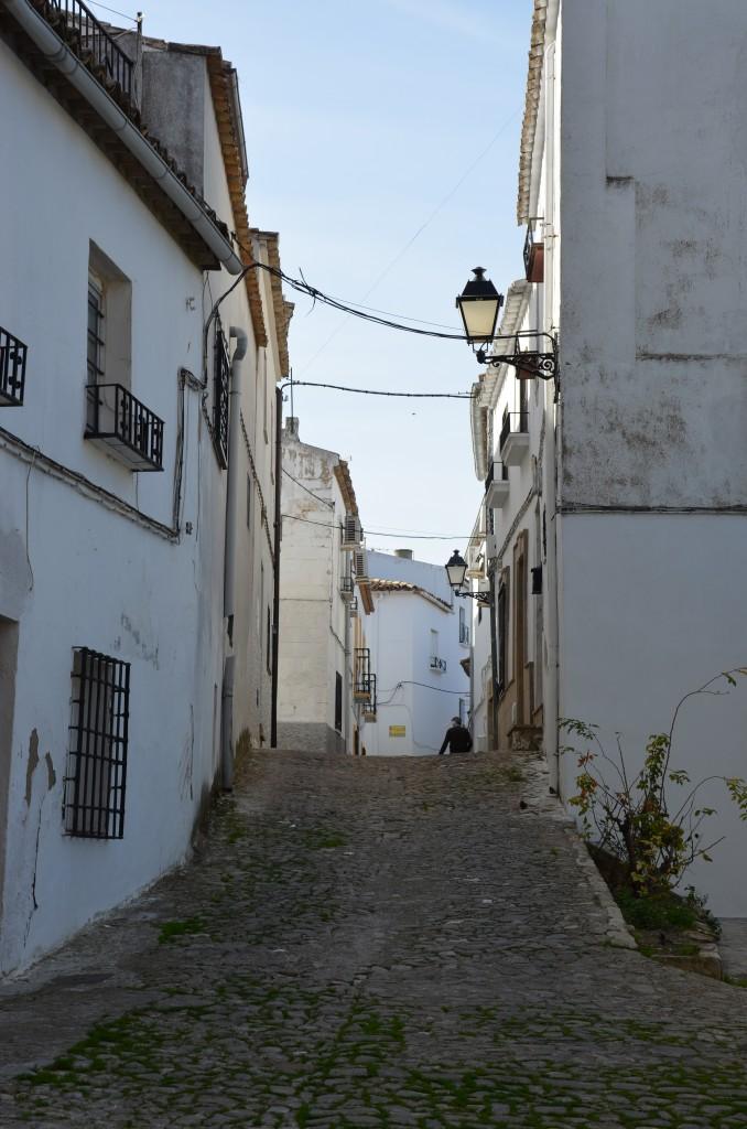 Albaicín, un barrio de Sabiote.