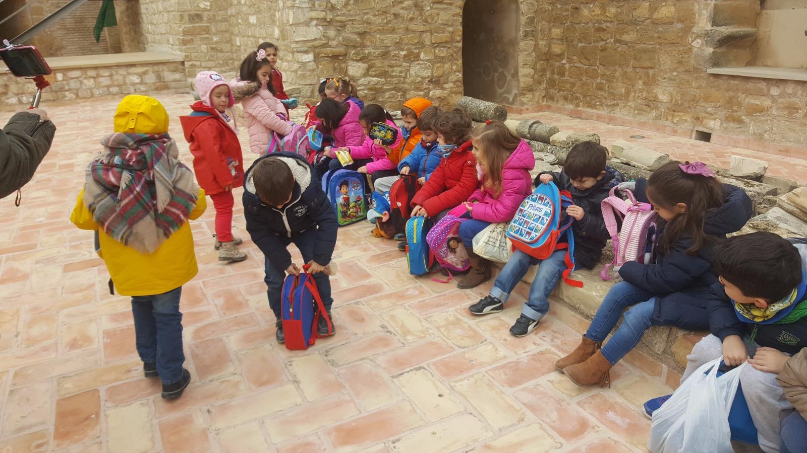 visita-escolares-CEIP-Villacarrillo_Sabiote_Turismo