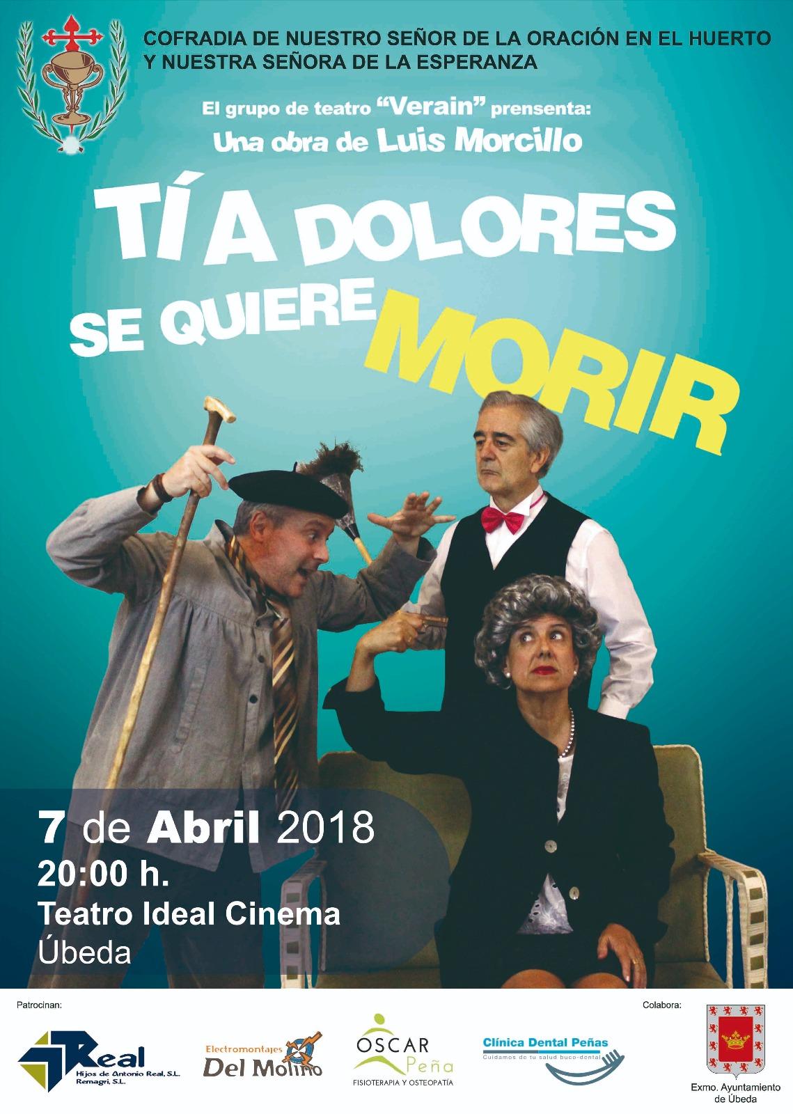 «Tía Dolores se quiere morir»