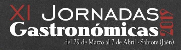 XI JORNADAS GASTRONÓMICAS DE SABIOTE 2019